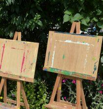 entretien chevalet peinture