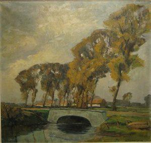 Paysage venteux Gerard van Tieghem