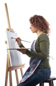 test chevalet de peinture Amazinggirl
